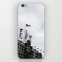 wrigley field iPhone Skin