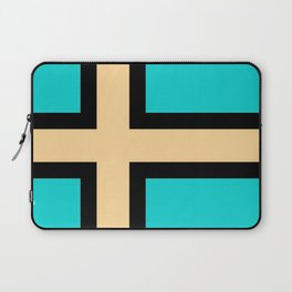 flag of norway - with inverted colors Laptop Sleeve