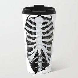 Skeleton Ribs Travel Mug