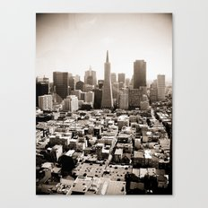 The View from Coit Canvas Print