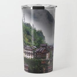 Dreamy Austrian village: Hallstatt Travel Mug
