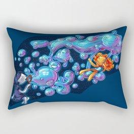 Creating the universe is fun! Rectangular Pillow