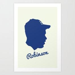 Jackie Robinson Art Print