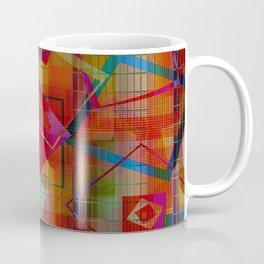 Topsy Turvy Squares Coffee Mug