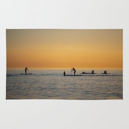 Water sports stand up paddling Rug