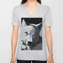 Wolf 4 Unisex V-Neck