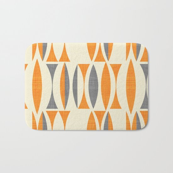 Seventies  orange Bath Mat