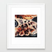 bacon Framed Art Prints featuring Bacon...... by Alex Spinney