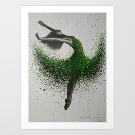 Fairy Flight Art Print