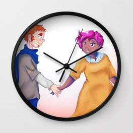 Unexpected Gift Wall Clock