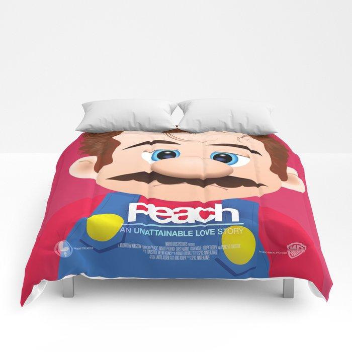 Peach - 'Her' parody movie poster Comforters