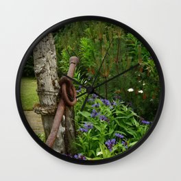 Nicely Aged Wall Clock