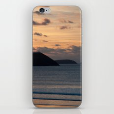 Evening Skies Over Polzeath iPhone & iPod Skin