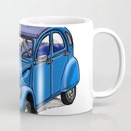 Blue 2CV Coffee Mug