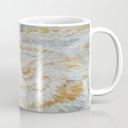 Abstract gold roses Coffee Mug