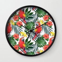 animals summer Wall Clock