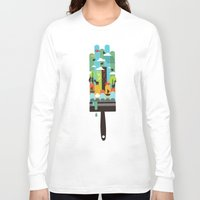 child Long Sleeve T-shirts featuring Paint your world by Picomodi