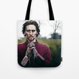 Henry V praying Tote Bag