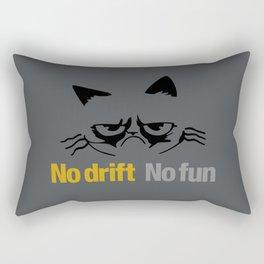 No drift No fun v1 HQvector Rectangular Pillow