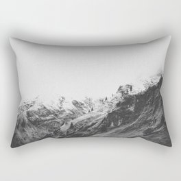 THE MOUNTAINS VIII / Bavarian Alps Rectangular Pillow