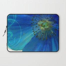 Poppy Blues I Laptop Sleeve