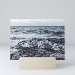 Rough Sea Mini Art Print