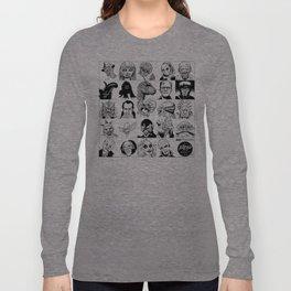 Inktober Monsters Long Sleeve T-shirt