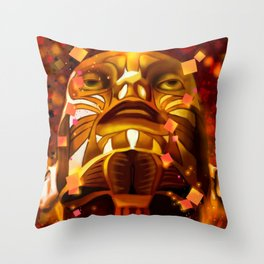 BIONIC BEING Throw Pillow