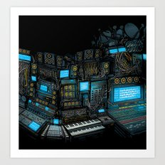 Parallel Thought - Art of Sound album cover artwork Art Print