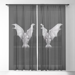 Gargoyle Sheer Curtain