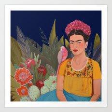 Frida.licious Art Print
