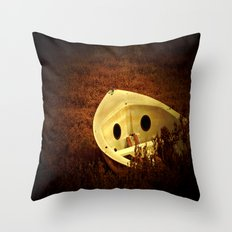 Abandoned. Throw Pillow