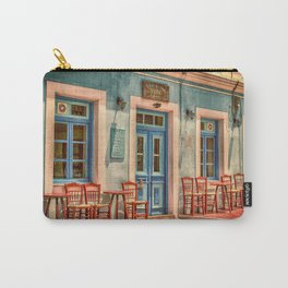 Pastel Cafe Peloponnese Greece Carry-All Pouch