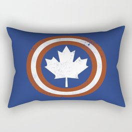 Captain Canada Rectangular Pillow