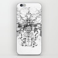 motorbike iPhone & iPod Skins featuring Motorbike. by sonigque