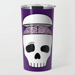 Brainy Skull Travel Mug