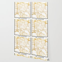 GLASGOW SCOTLAND CITY STREET MAP ART Wallpaper