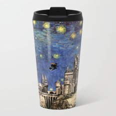 Hogwarts Starry Night Metal Travel Mug