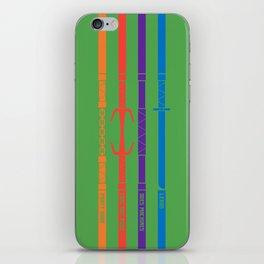 TMNT iPhone Skin