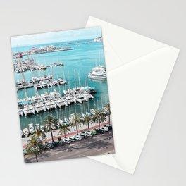 Yacht Promenade Stationery Cards