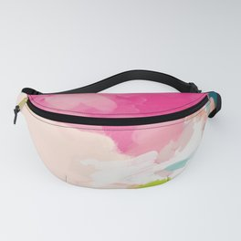 pink sky Fanny Pack