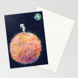 Stop and Smell the Moon Flowers Stationery Cards