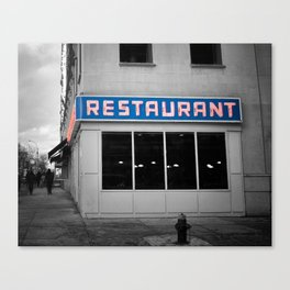 Toms Diner NYC Canvas Print