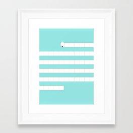 (very) Long Toilet Paper Framed Art Print