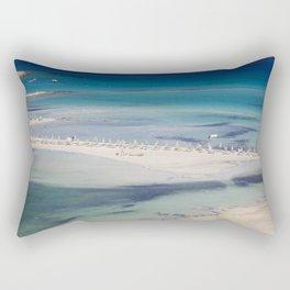 balos beach,greece Rectangular Pillow