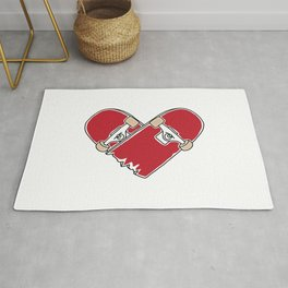 Heartboard Rug