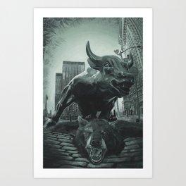 Triumph of the Bull Art Print