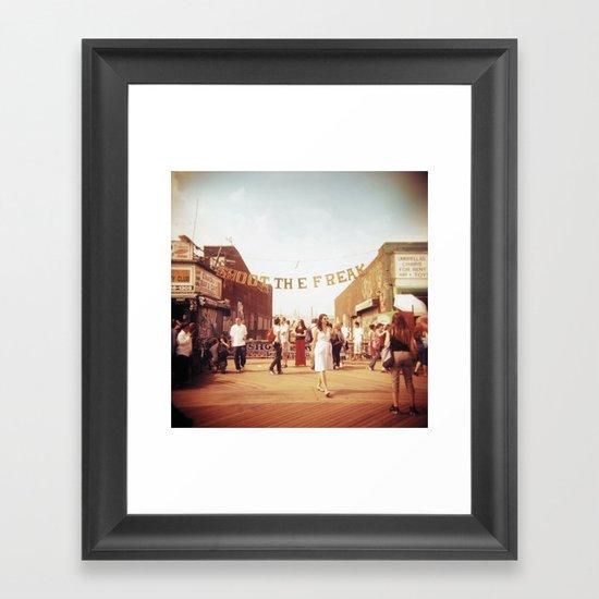 Coney Island #1 Framed Art Print