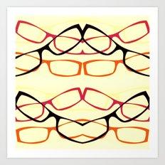 Four Eyes (1) Art Print