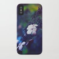 hydrangea iPhone & iPod Cases featuring Hydrangea by Nikita Gill
